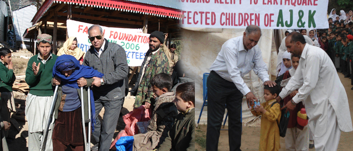 EARTHQUAKE 2005 RELIEF AND REHABILITATION ACTIVITIES IN AZAD JAMMU & KASHMIR, PAKISTAN